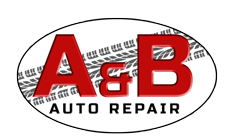 A and B Auto Repairs Logo